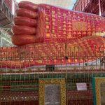 ミャンマーのヤンゴンで巨大寝仏像!チャウッターヂーパゴダ観光