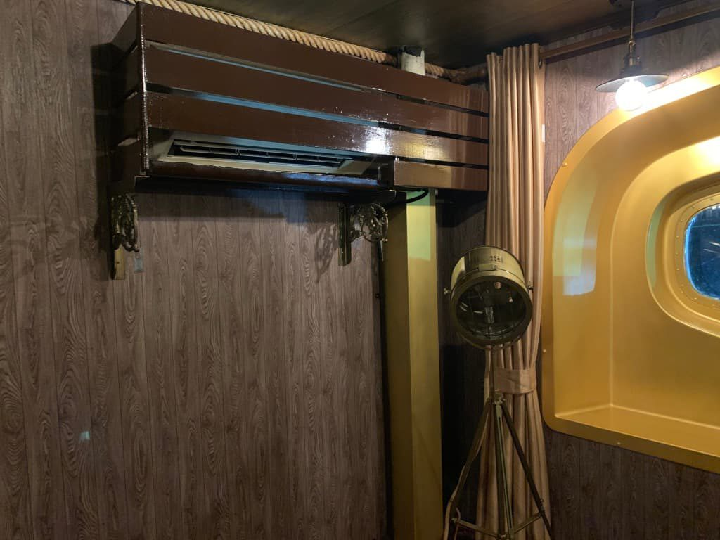 ビンテージラグジュアリーヨットホテル クーラー
