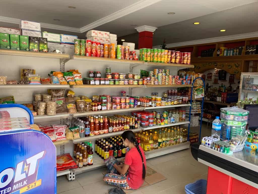 ミャンマー スーパーマーケット