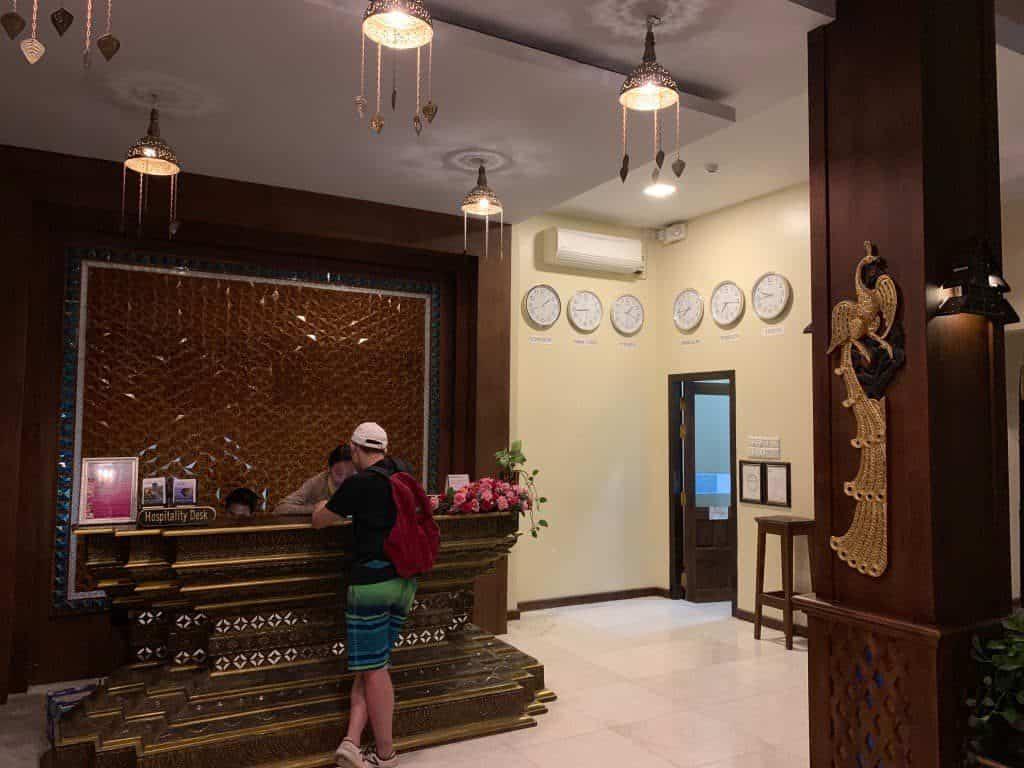 サウザンドアイランドホテル・インレー フロント