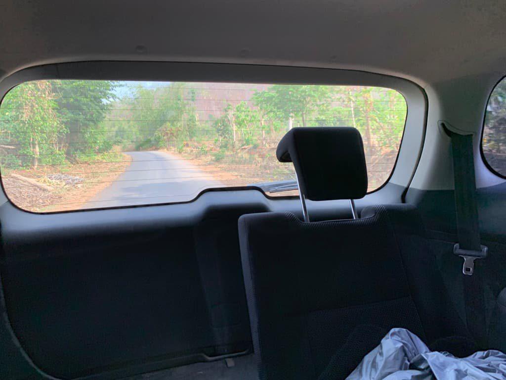 カックー遺跡までの道