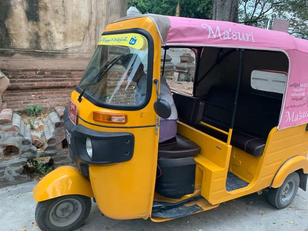 マンダレー 三輪タクシー