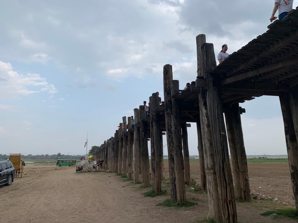 ウーベイン橋 カラカラ
