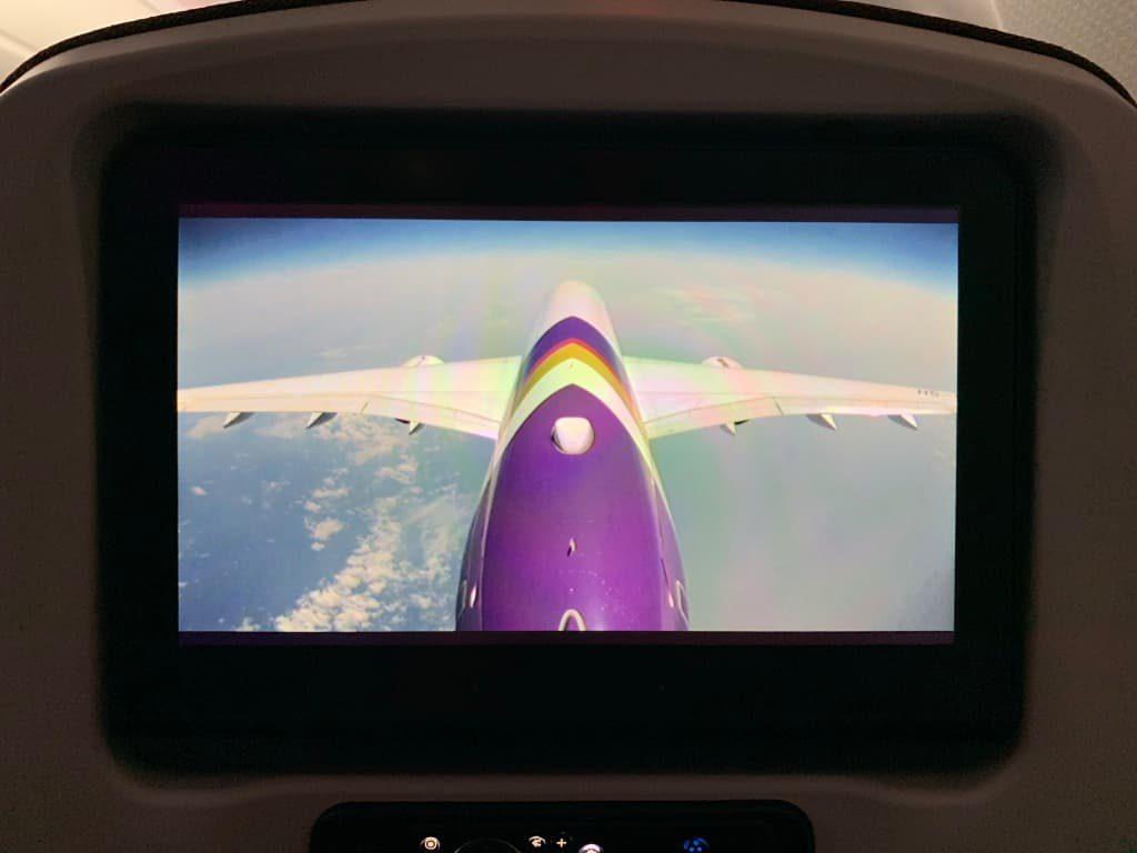 タイ国際航空 尾翼カメラ
