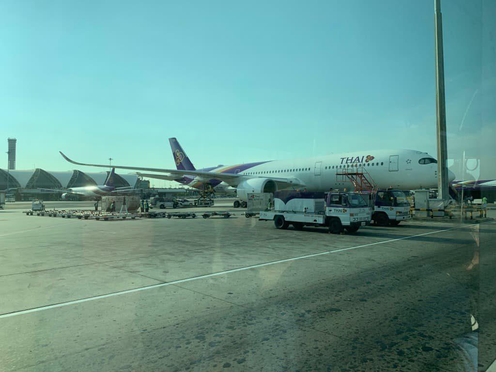 スワンナプーム国際空港到着