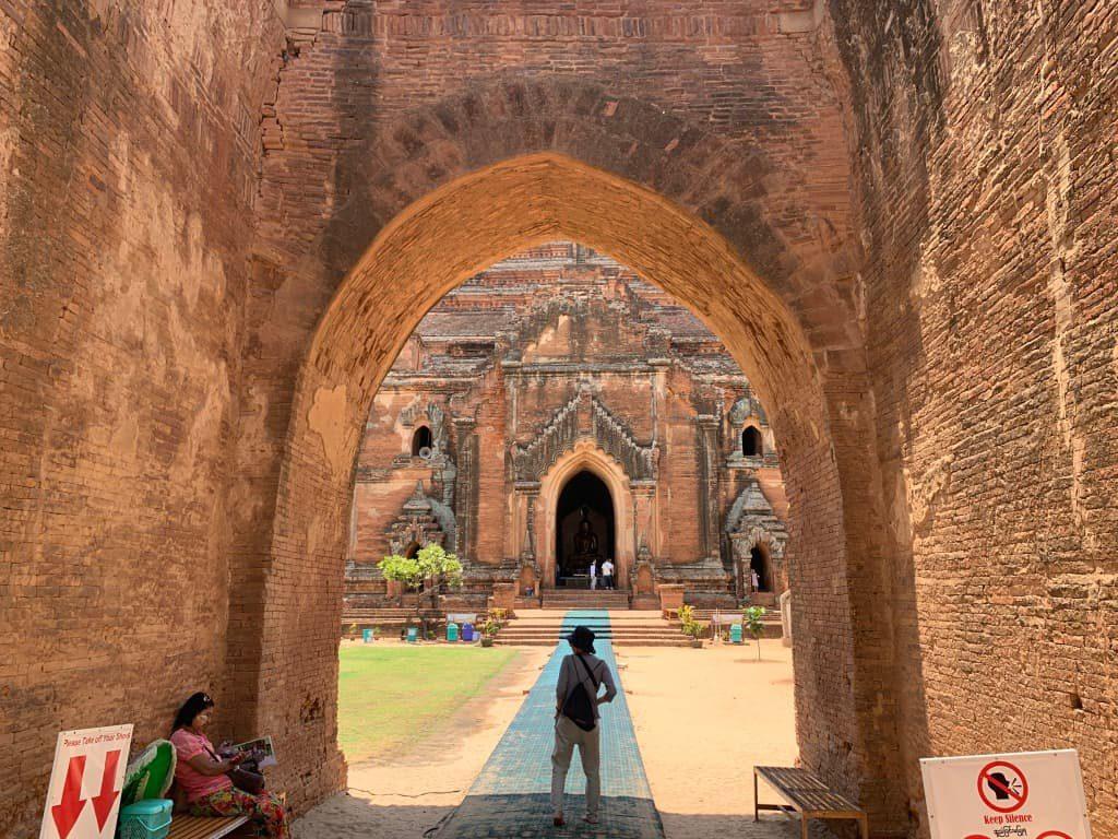 ダマヤンジー寺院 入口