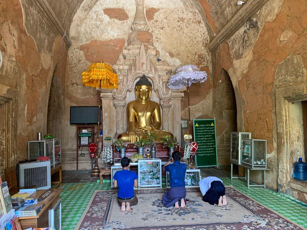 htilominlo Temple 仏像
