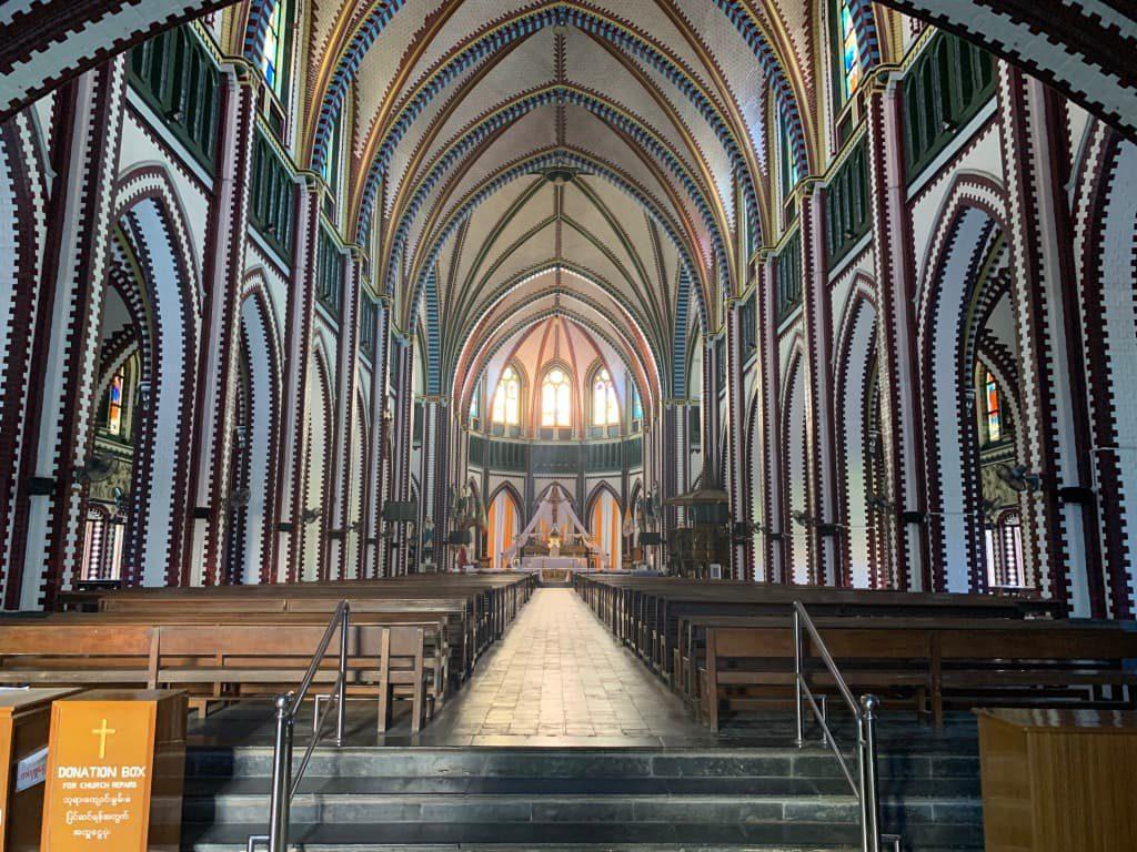 ヤンゴン 聖マリア大聖堂