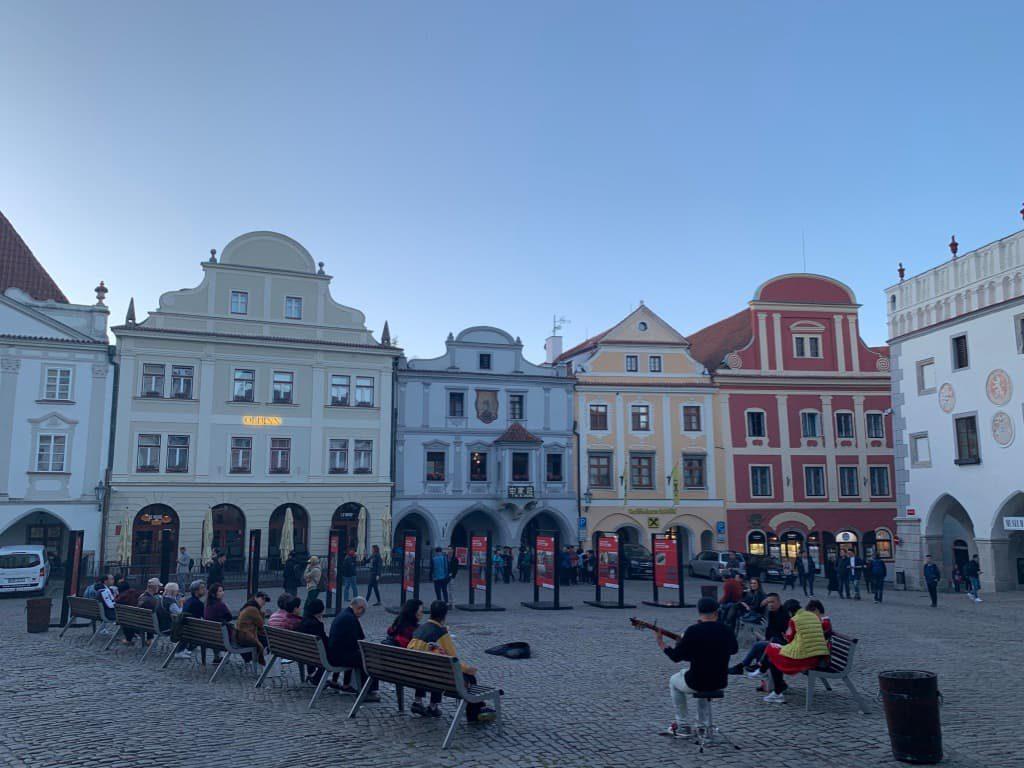 チェスキークルムロフ 広場