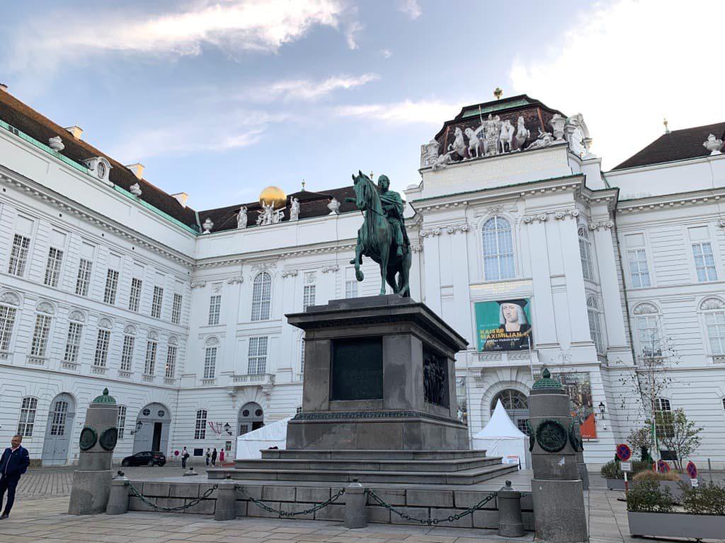 オーストリア国立図書館 外観