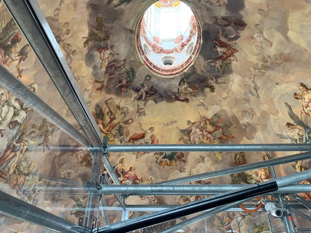 カールス教会天井画