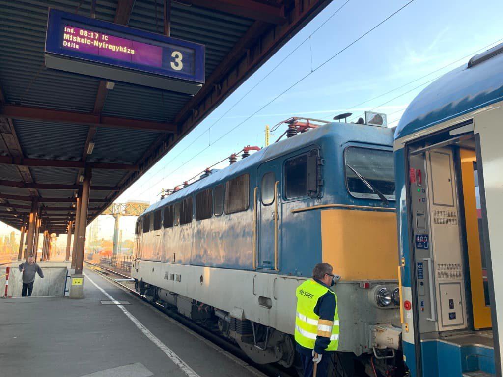 ハンガリ高速鉄道IC