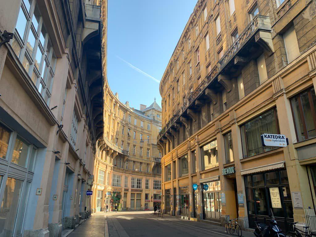ブダペスト 街並み