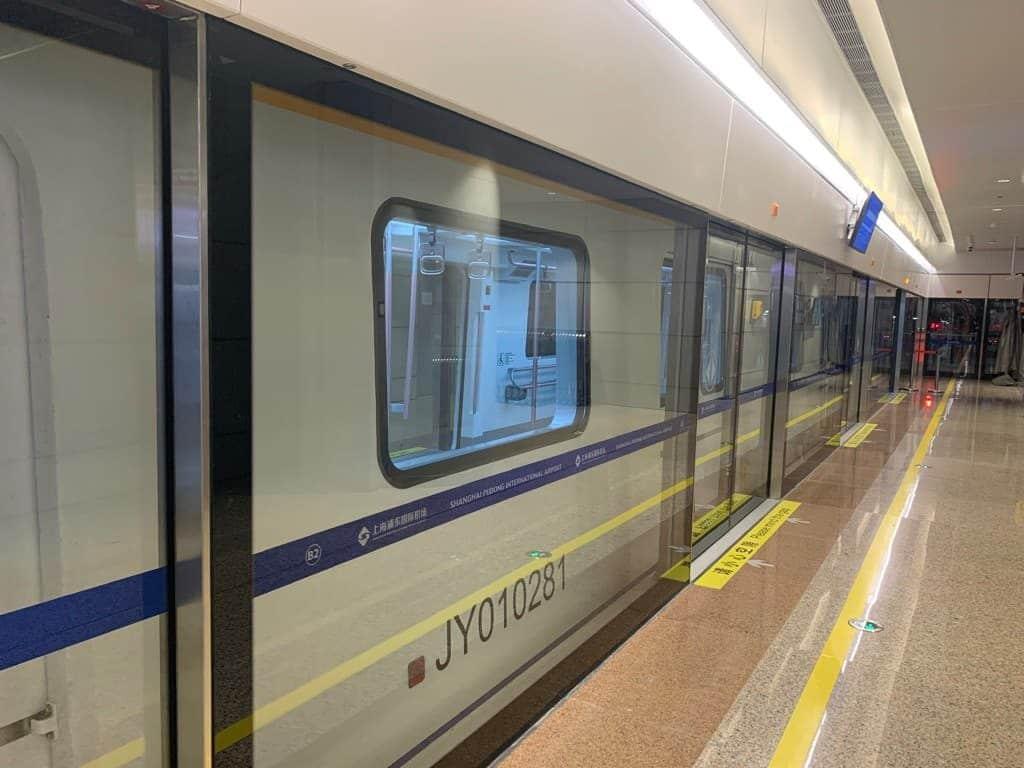 上海浦東空港 電車