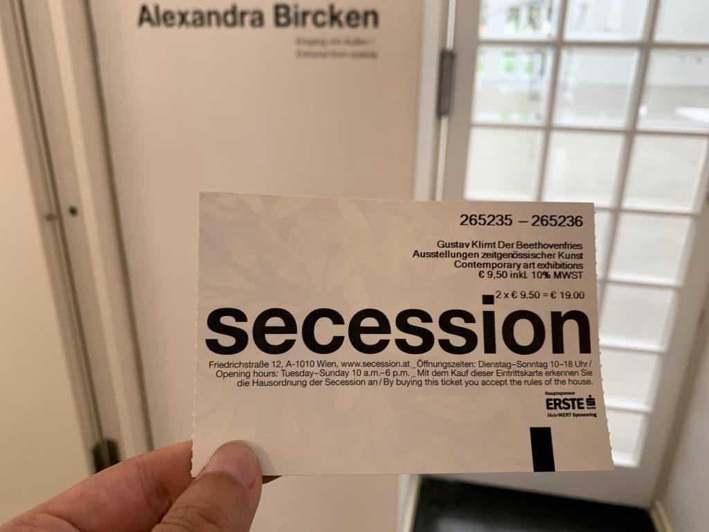 セセッション チケット