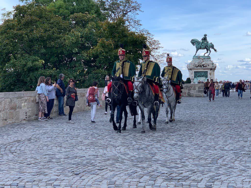 ブダ城 騎馬隊