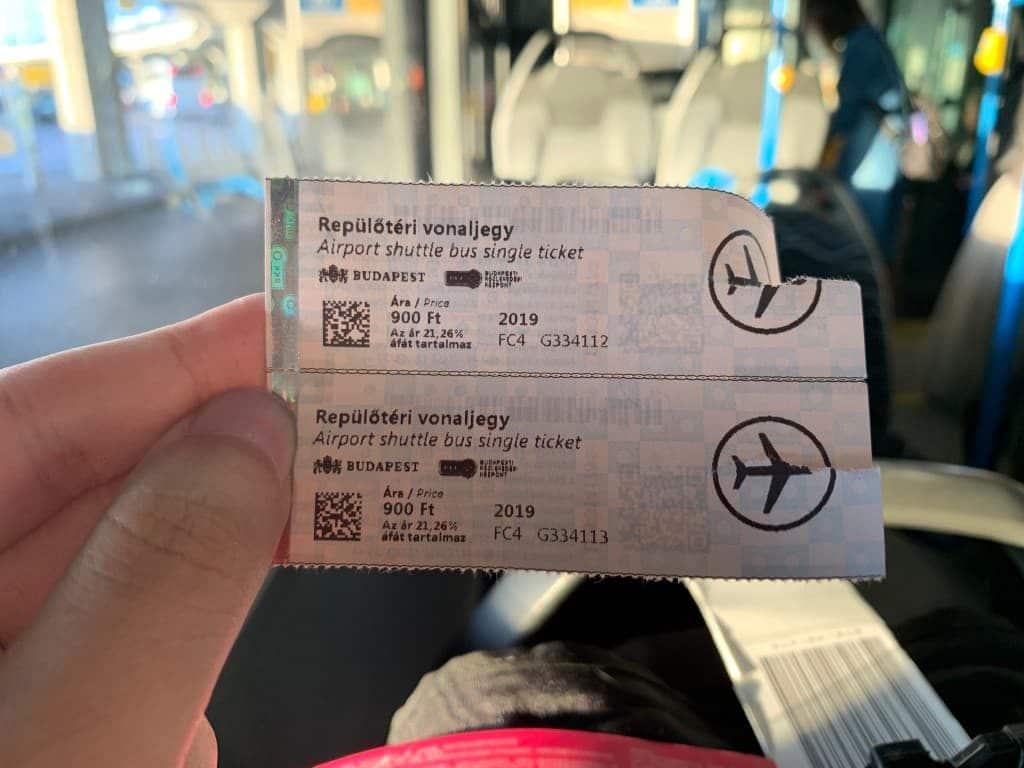 100Eバス チケット