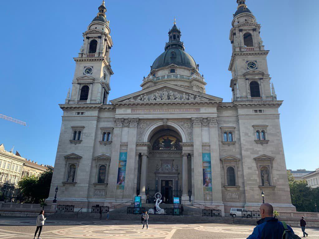 聖イシュトヴァーン大聖堂外観