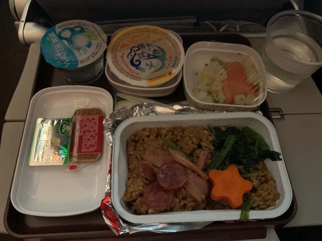 上海航空 機内食