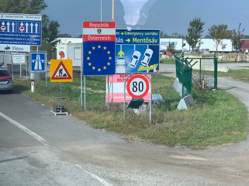 ハンガリー オーストリア 国境