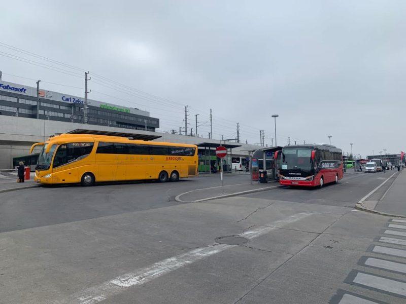 ウィーン中央駅バスステーション