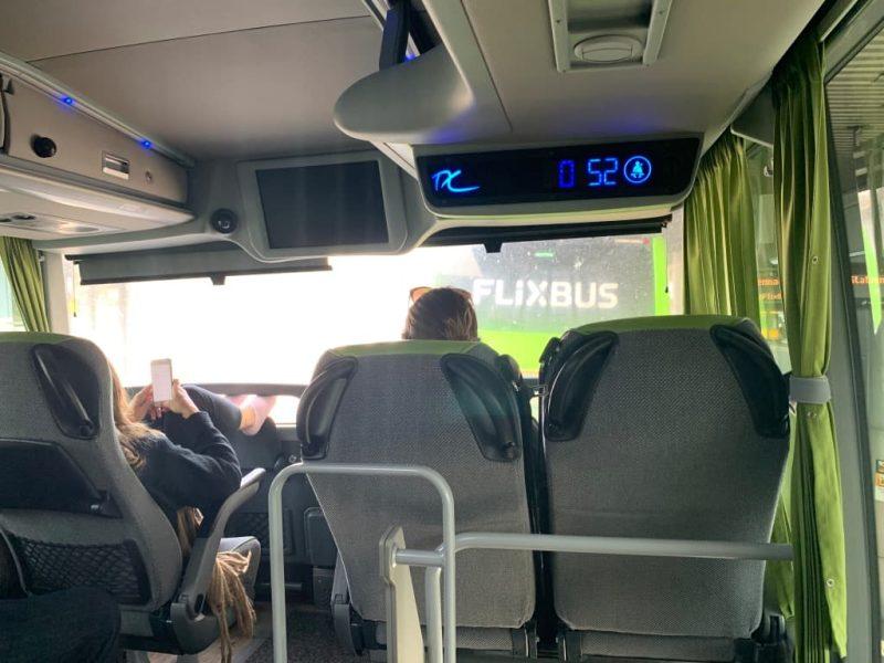 Flixbus 二階建てバス