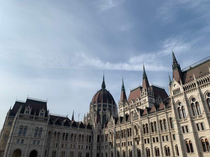 ハンガリー国会議事堂外観