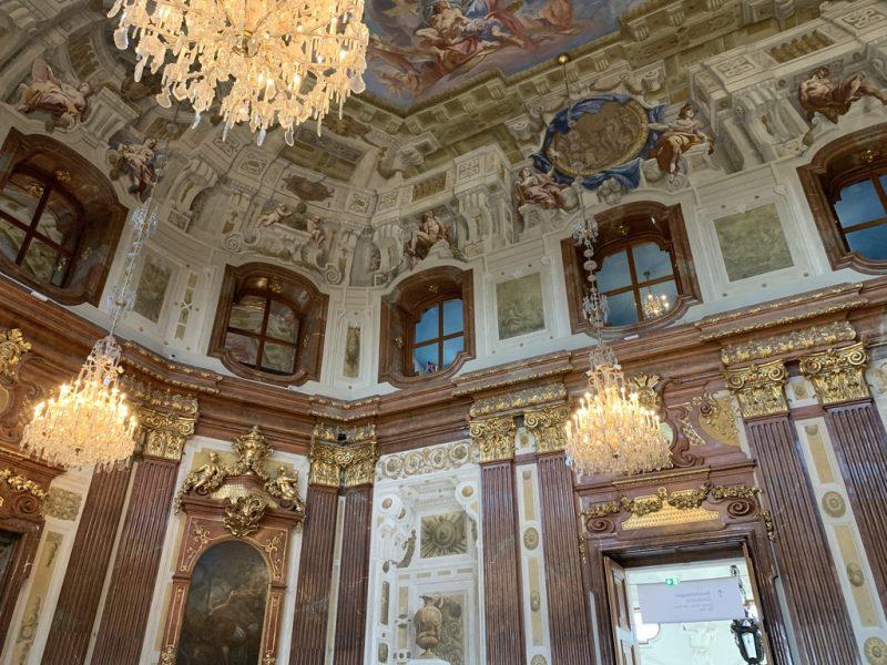 ベルデヴェーレ宮殿内部