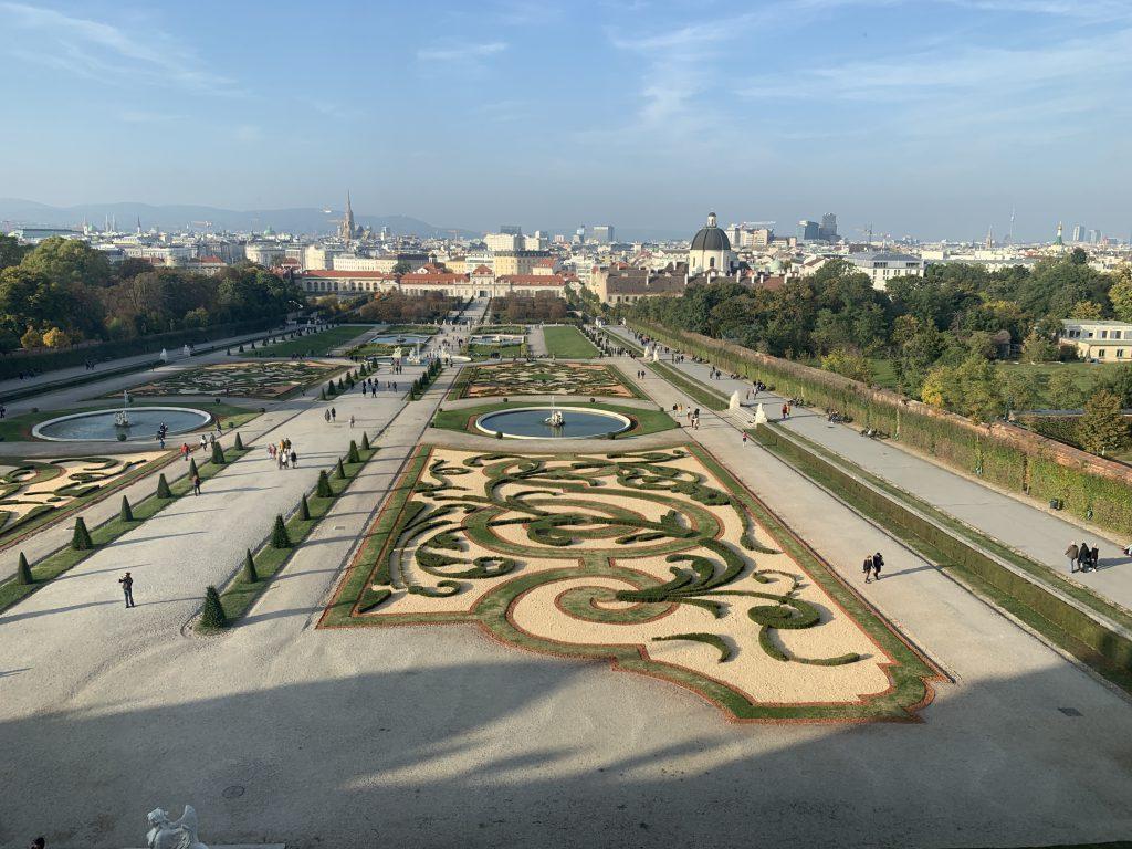 ベルデヴェーレ宮殿 庭