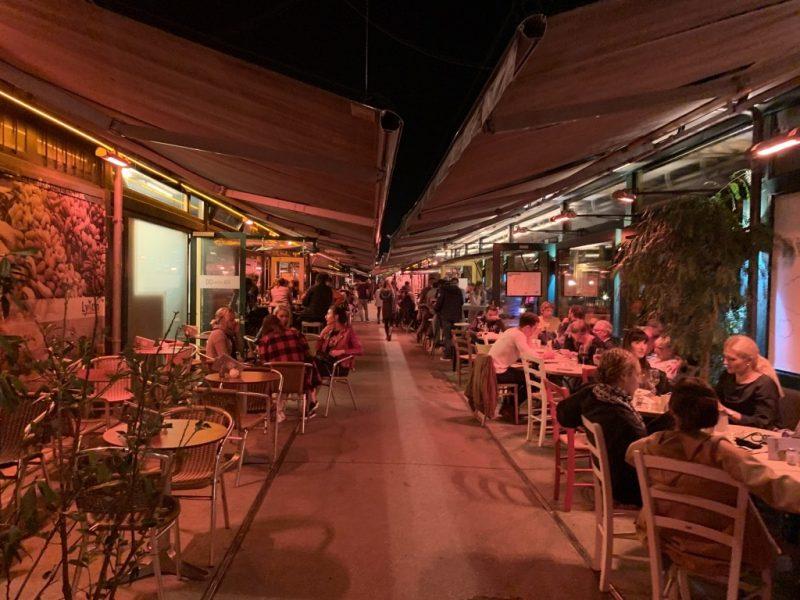 ウィーン レストラン街