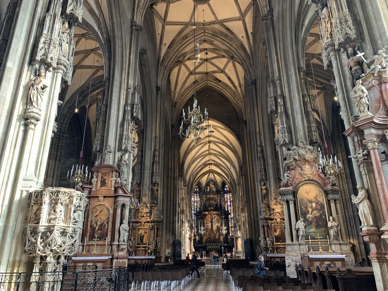 聖シュテファン大聖堂 内部