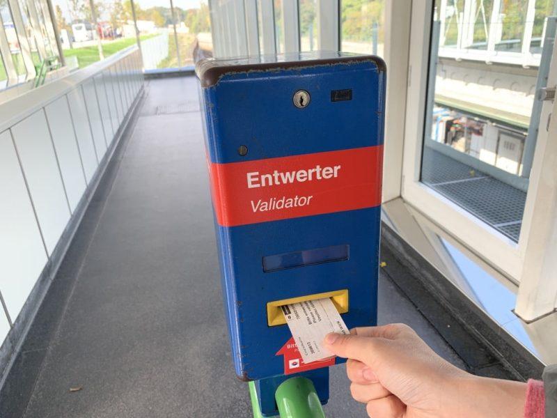 ウィーン 地下鉄 打刻
