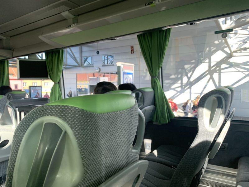 チェスケー・ブジェヨヴィツェ バスステーション