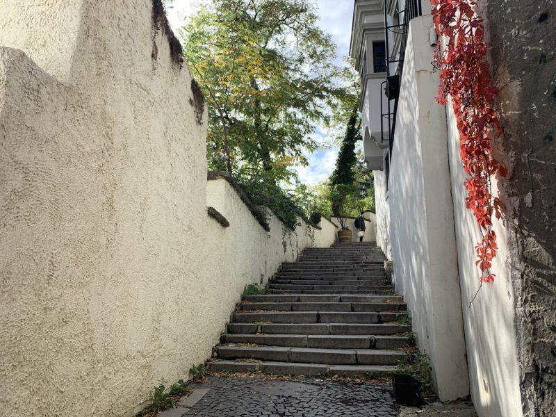 ブラチスラバの小道