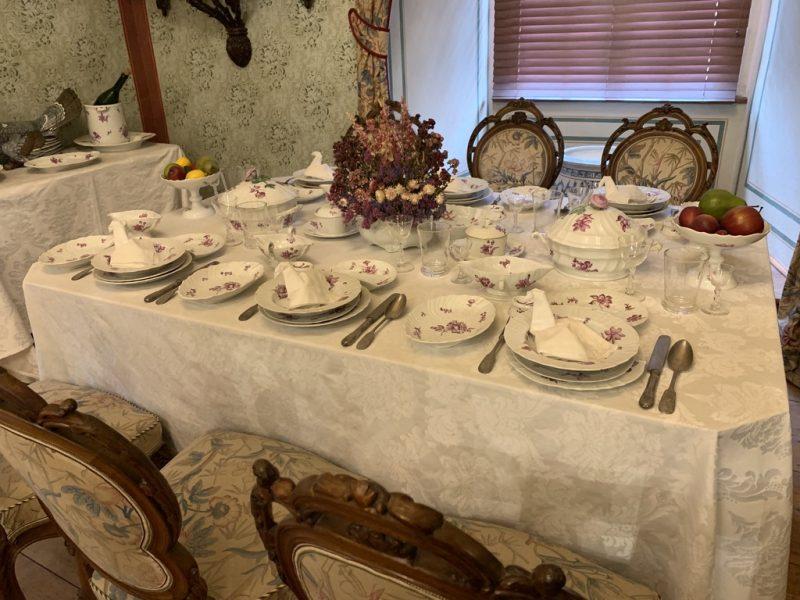 チェスキークルムロフ城 食卓