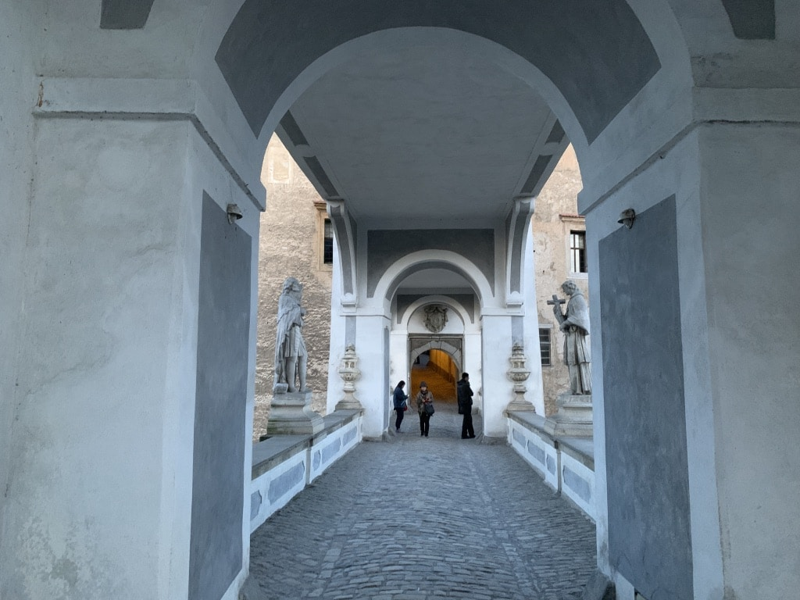 チェスキークルムロフ城 橋