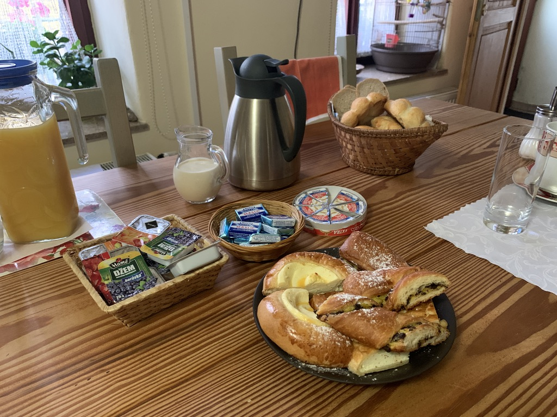 ペンションポボーデ 朝食