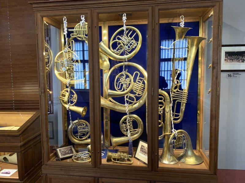 チェスキークルムロフ城 楽器