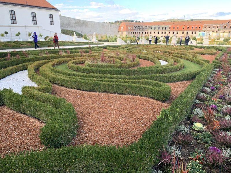 ブラチスラバ城庭園