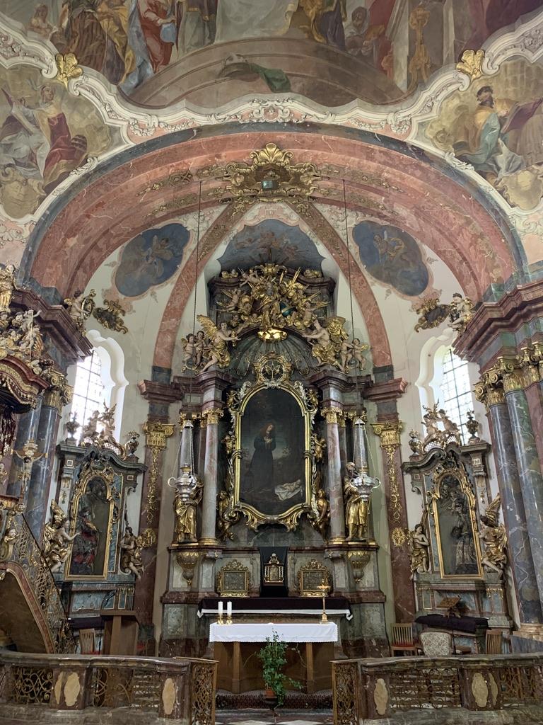 ロレッタ教会装飾