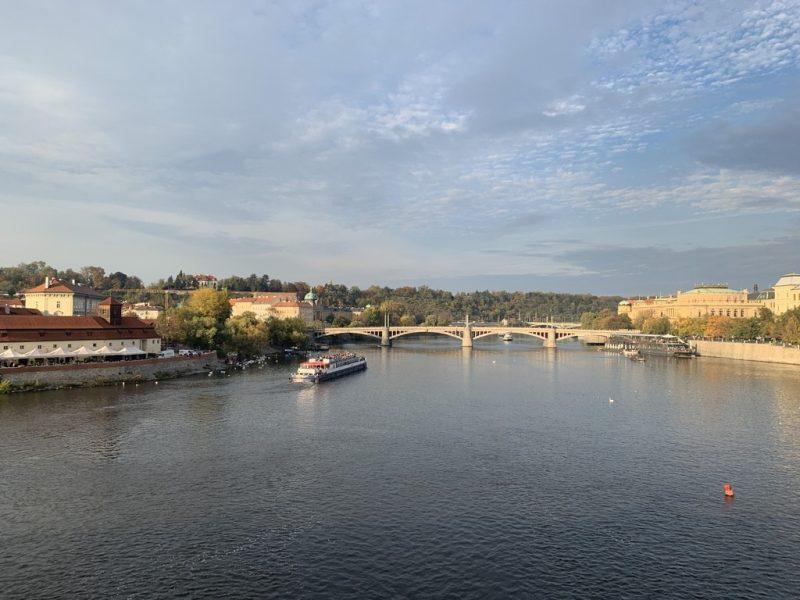 プラハ ブルタバ川