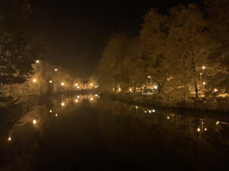 夜のモルダウ