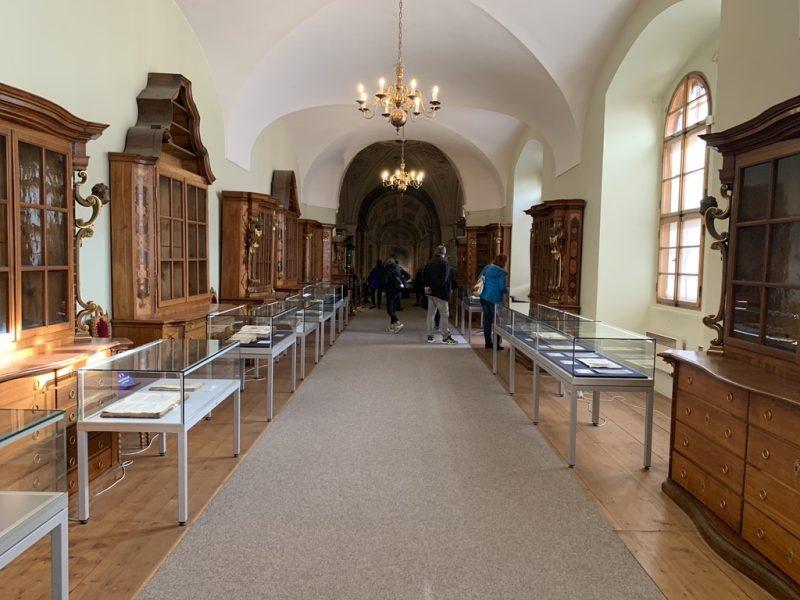 ストラホフ修道院 廊下