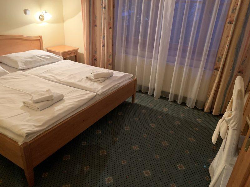 プラハホテルクラリス ベッド