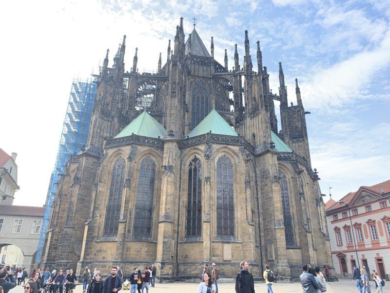 聖ヴィート大聖堂裏側
