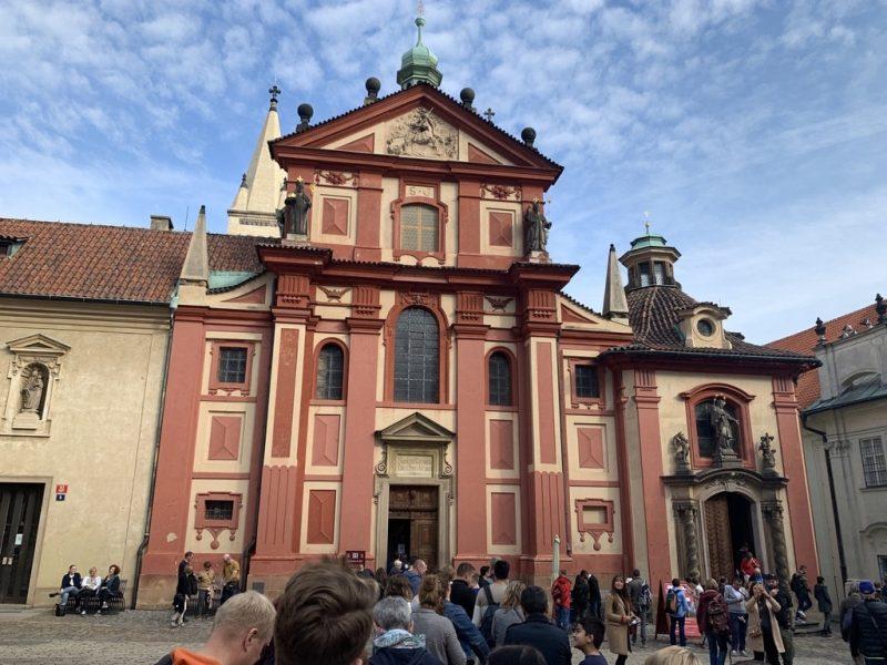 聖イジー教会 外観