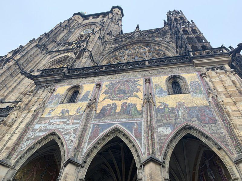 聖ヴィート大聖堂側面壁画