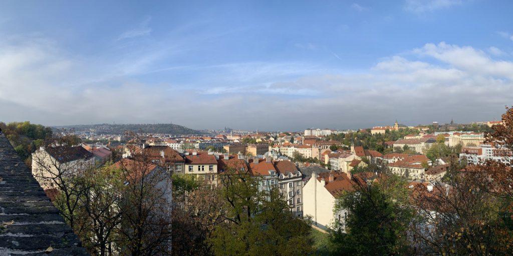 ヴィシェフラットからの眺望